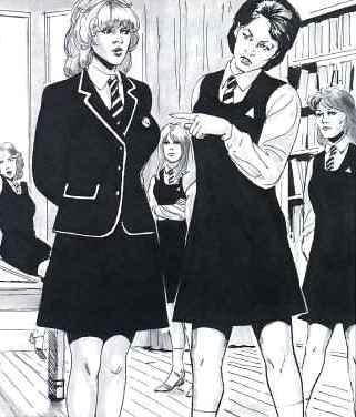 spanking schoolgirls